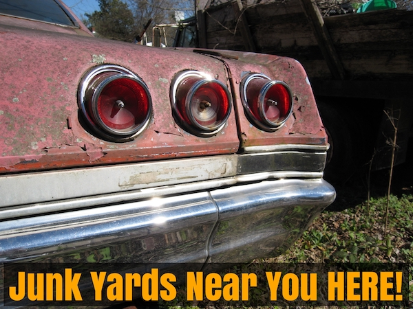 Junk Yards Near Me Find Used Auto Parts