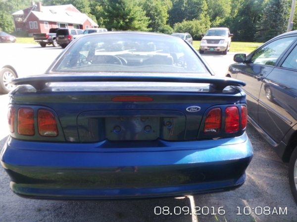 1998 Ford Mustang For Sale in Worcester, MA - Salvage Cars