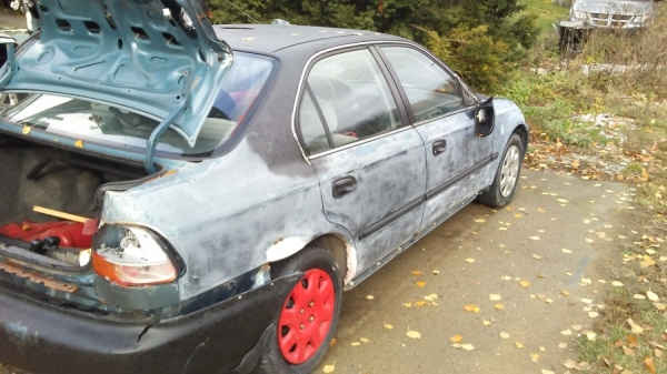 1998 honda civic for sale in essex ny salvage cars. Black Bedroom Furniture Sets. Home Design Ideas