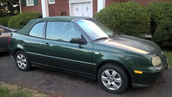 Cheap Cars For Sale In Va >> 2002 Volkswagen Cabrio For Sale in Culpeper, VA - Salvage Cars