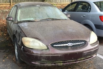Junk Ford Taurus 2001 Photography