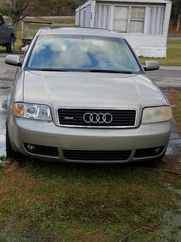 audi a6 2002 for sale in boone nc salvage cars. Black Bedroom Furniture Sets. Home Design Ideas