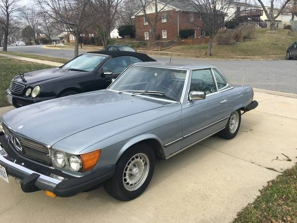 1994 Mercedes-Benz SL-Class For Sale in Davidsonville, MD ...