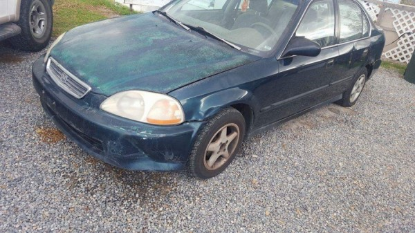 Honda Civic 1997 For Sale In Orem Ut Salvage Cars