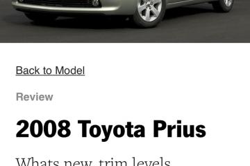 Toyota Prius 2008