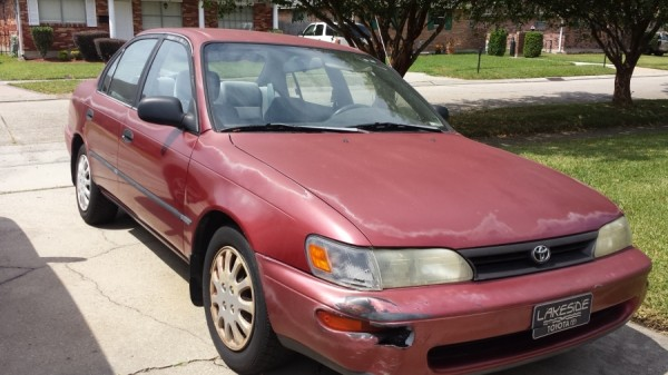 500 Cash For Junk Cars >> Toyota Corolla 1993 For Sale in Metairie, LA - Salvage Cars