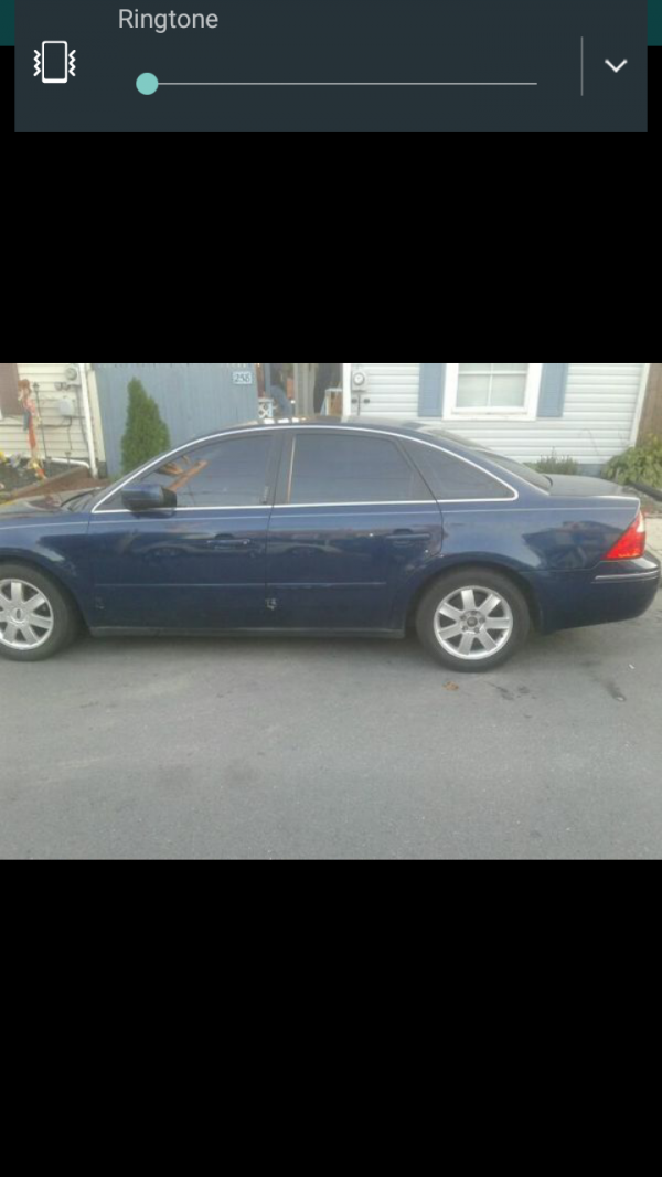 2006 ford five hundred for sale in chambersburg pa salvage cars. Black Bedroom Furniture Sets. Home Design Ideas