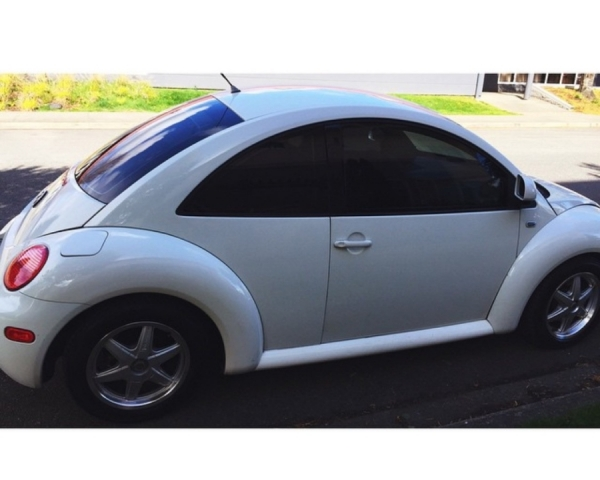 Junk Volkswagen New Beetle 1998 Photography