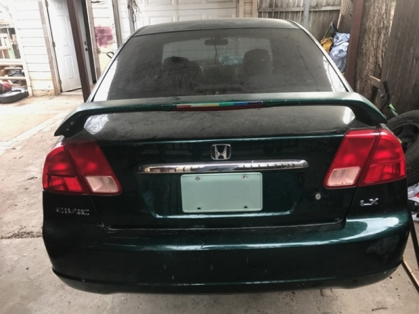 Junk Yards In Fort Worth Texas >> 2001 Honda Civic For Sale in Fort Worth, TX - Salvage Cars