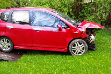 Junk Honda Fit 2007 Photo