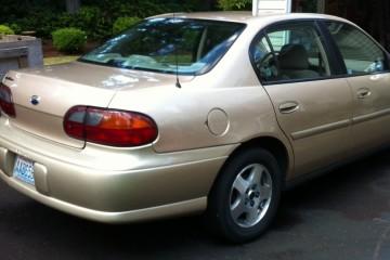 Junk Chevrolet Malibu 2003 Image