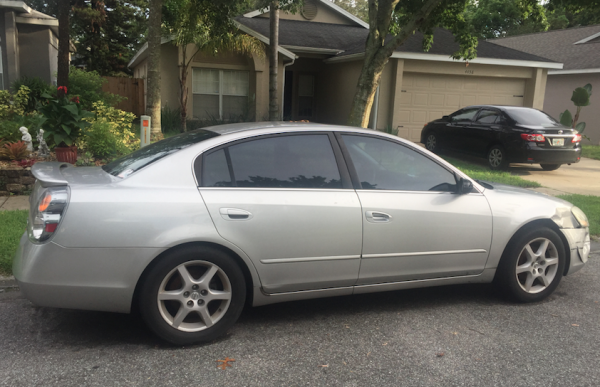 nissan altima 2002 for sale in casselberry fl salvage cars. Black Bedroom Furniture Sets. Home Design Ideas