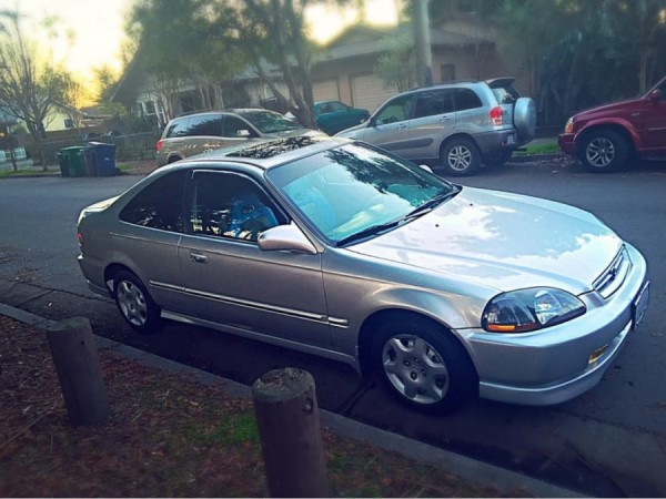 honda civic 1998 for sale in santa rosa ca salvage cars. Black Bedroom Furniture Sets. Home Design Ideas