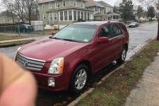 2004 cadillac srx for sale in pleasantville nj salvage cars. Black Bedroom Furniture Sets. Home Design Ideas