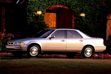 Junk Acura Legend 1991 Photography