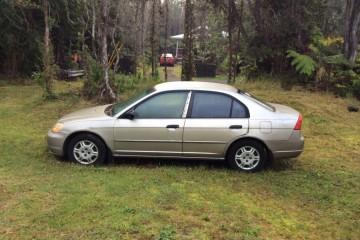Junk Honda Civic 2001 Photography