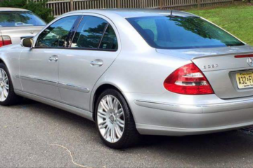 Junk Mercedes-Benz E-Class 2003 Photo