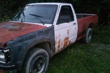 Junk Chevrolet S-10 1990 Photography