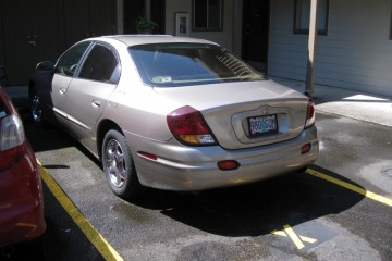 Oldsmobile Aurora 2001