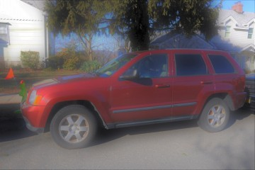 Junk Jeep Grand Cherokee 2008 Photo