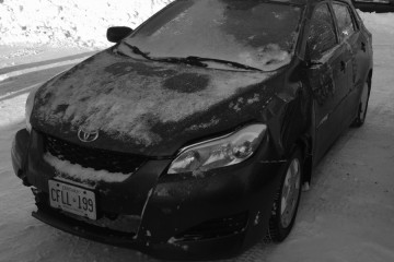 Junk Toyota Matrix 2010 Photo