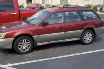 Junk Subaru Outback 2002 Image