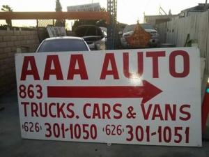 AAA AUTO WRECKING