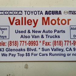 Valley motor (Image 1 of 3)