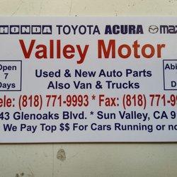 Valley motor