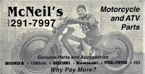 McNeil`s Motorcycle & ATV Salvage