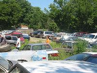 Crash Frank Auto Wrecking Yard Two