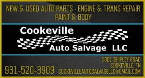 COOKEVILLE AUTO SALVAGE LLC.