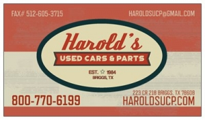 Harolds Used Cars & Parts