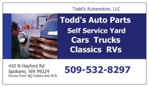 Todd's Auto Parts junkyard - Auto Salvage Parts