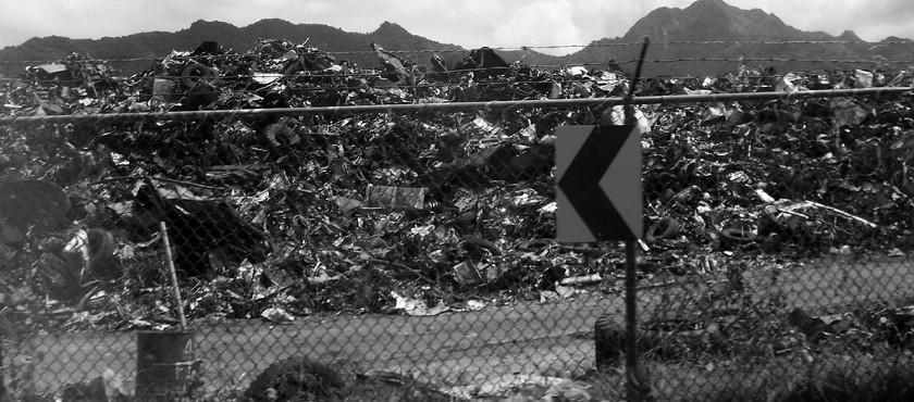 Scrapping Yard