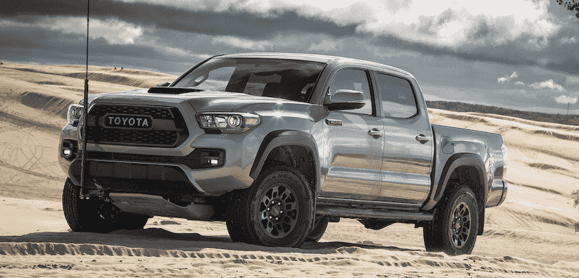 The new 2019 Toyota Tacoma