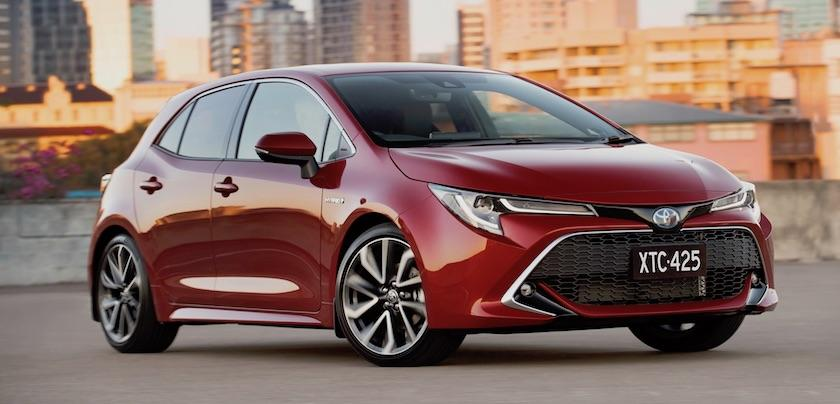 The all-new Toyota Corolla 2019 it's here