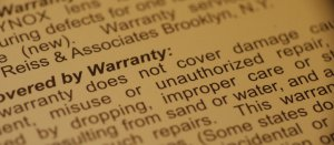What is the mandatory warranty for used car parts?